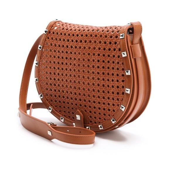 Rebecca Minkoff Handbags - Rebecca Minkoff Skylar Wicker Bag